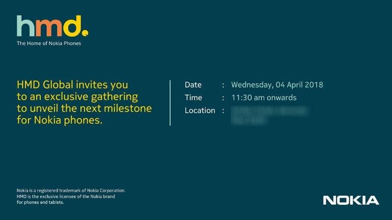 hmd global nokia 6 2018 invite Nokia 6 (2018) invite