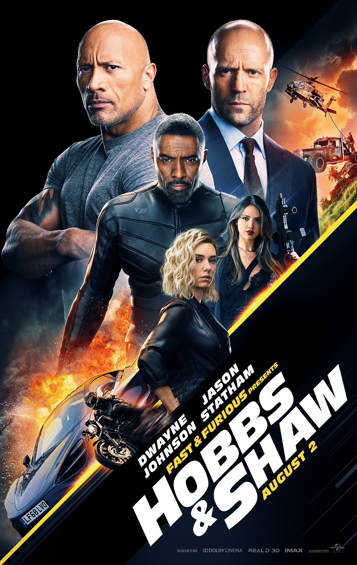 hobbs and shaw poster Hobbs and Shaw poster
