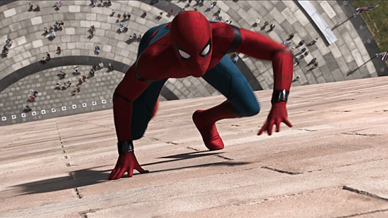 homecoming climb spider man