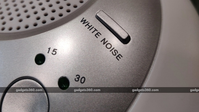 homedics sound spa review white noise HoMedics SoundSpa