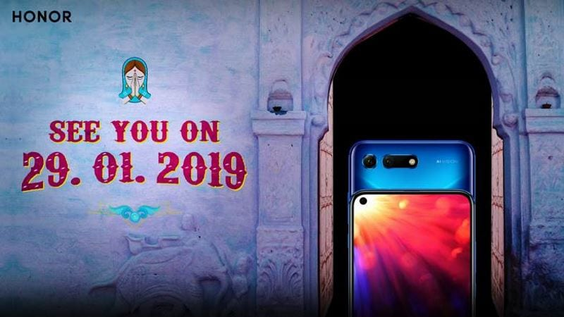 Honor View 20 India Launch Set for January 29, a Week After Its Global Launch