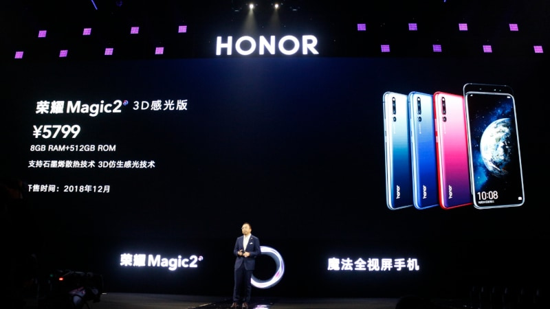 Honor Magic 2 3D With Enhanced Face Unlock Coming Soon: Price, Specifications