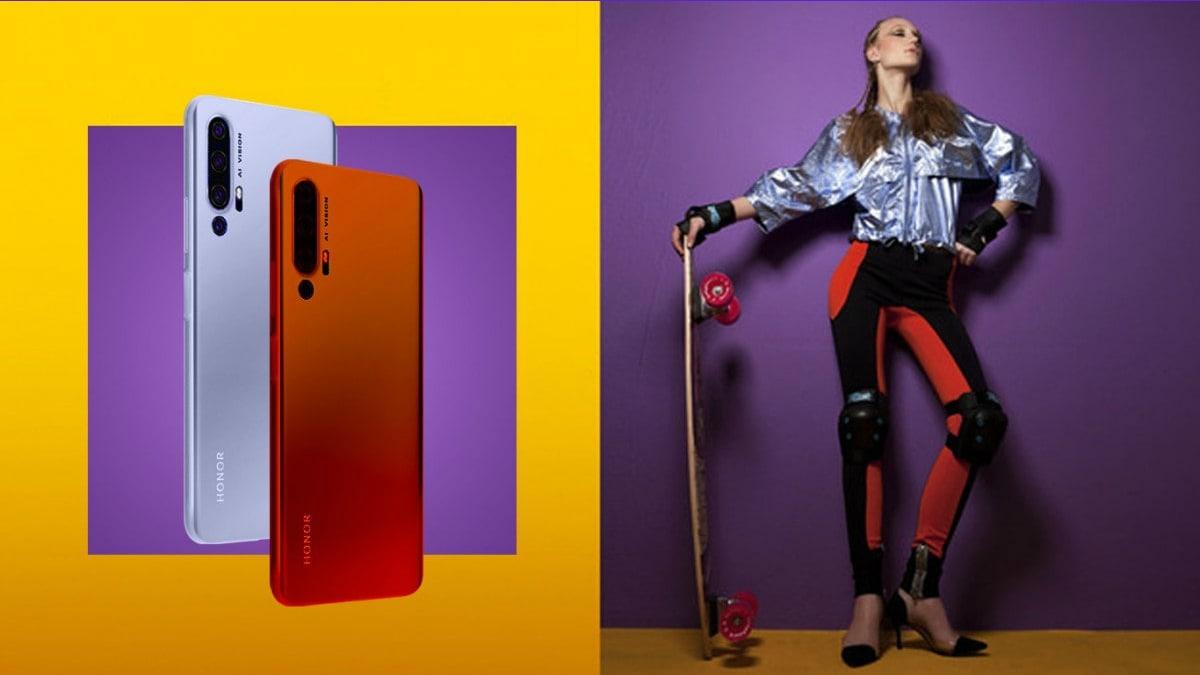 Honor 20 Pro Promo Images Leak Suggests Pop-Up Selfie Camera, Multiple Colour Options