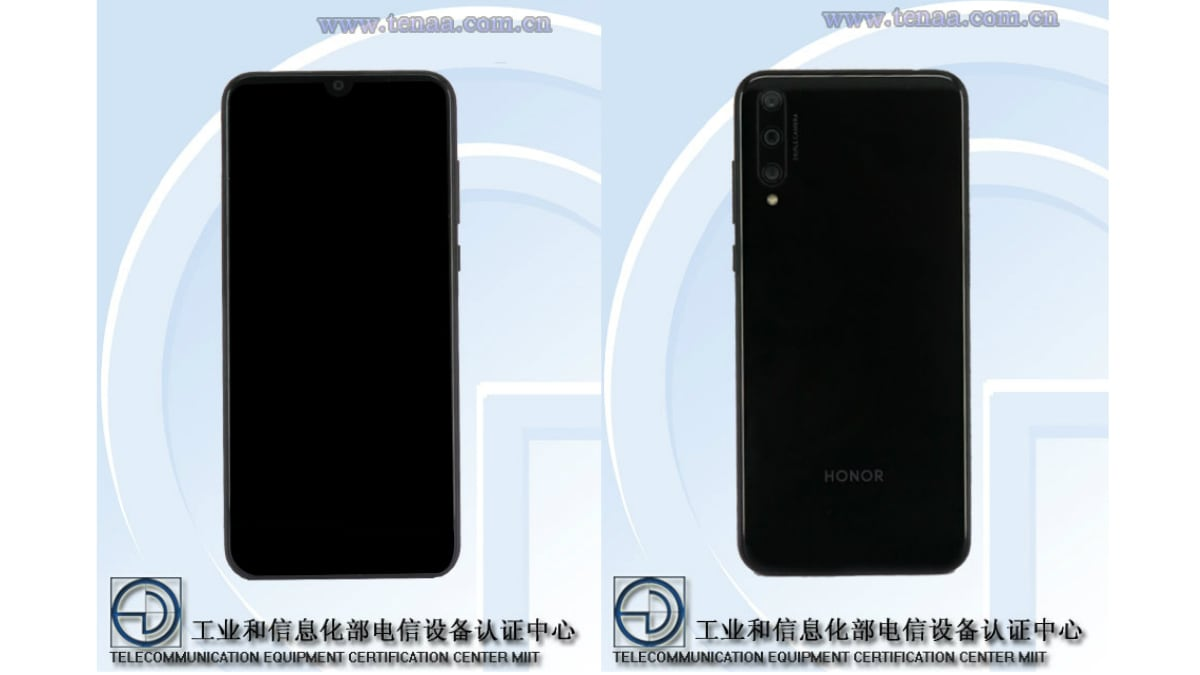 Honor 20 Lite TENAA Listing Tips Different Specifications From Global Model