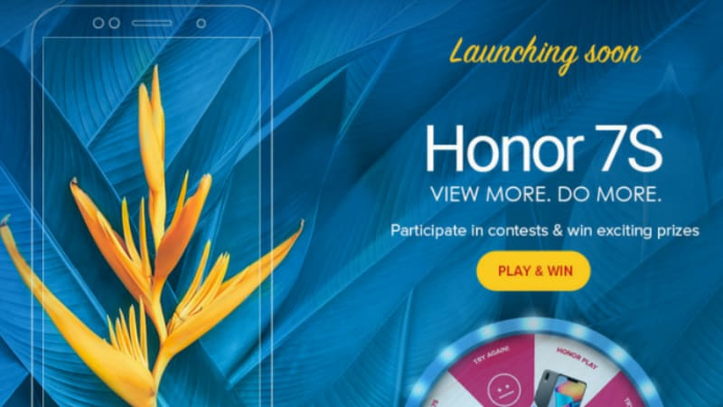 Honor 7S India Launch Will Be 'Soon', Company Teases