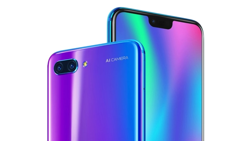 Honor 10 is coming to Europe: AI camera + iridescent glass chassis