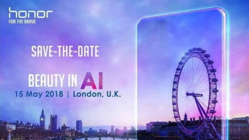 Honor 10 Launch Expected at May 15 London Event
