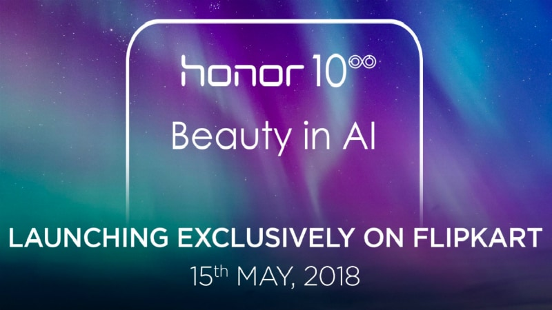 Honor 10 Goes on Sale in India on May 16 as a Flipkart Exclusive
