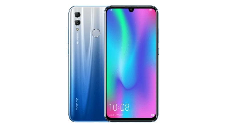 Honor 10 Lite officially introduced with waterdrop notch, Android Pie