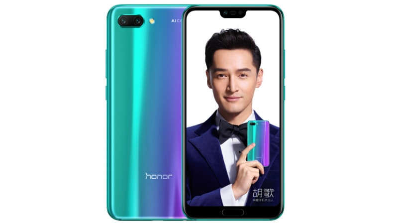 Honor 10 India Launch Set for May-End, Will Be a Flipkart Exclusive
