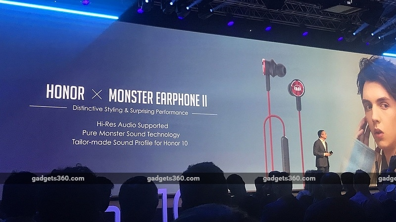 honor 10 monster earphone ii gadgets 360 honor