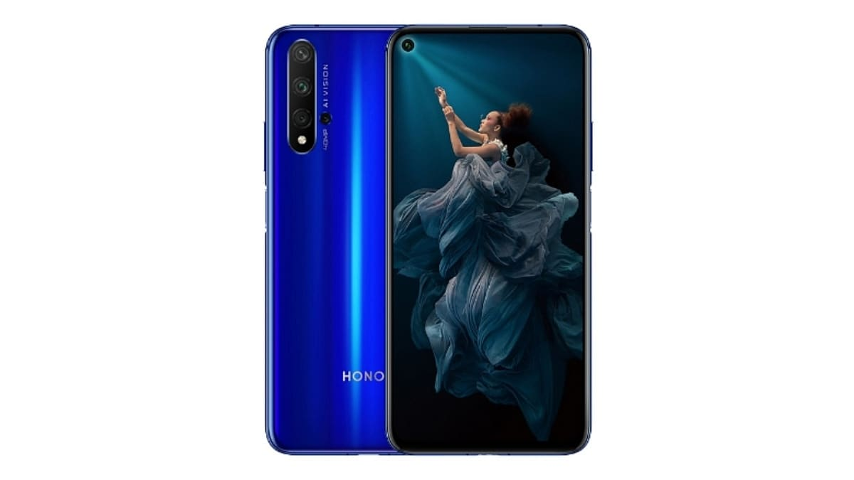 Honor 20 to Go on Sale in India Today via Flipkart: Check Price, Launch Offers, Specifications