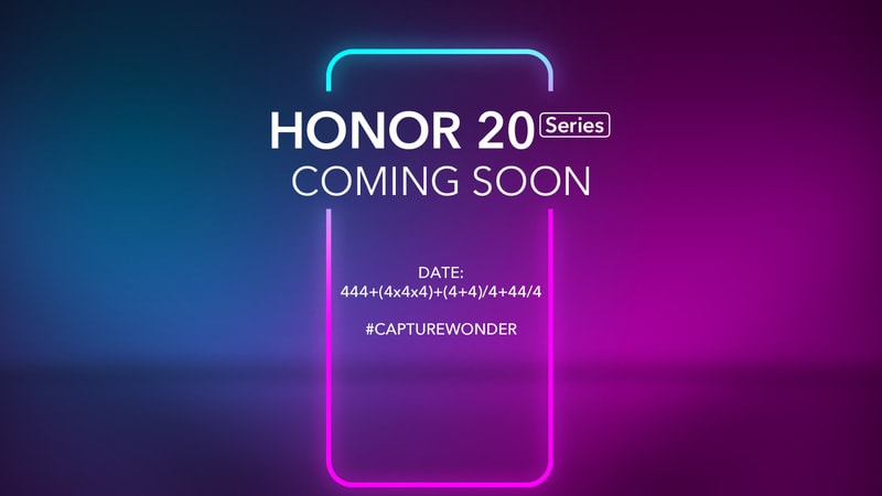 Honor 20 event set for May, obsessed with number 4