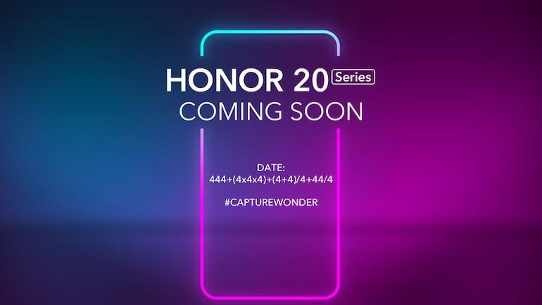 Honor 20 सीरीज़ के फोन 21 मई को होंगे लॉन्च