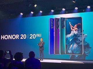 Honor 20 Pro लॉन्च, चार रियर कैमरे वाले इस फोन में होल-पंच डिस्प्ले