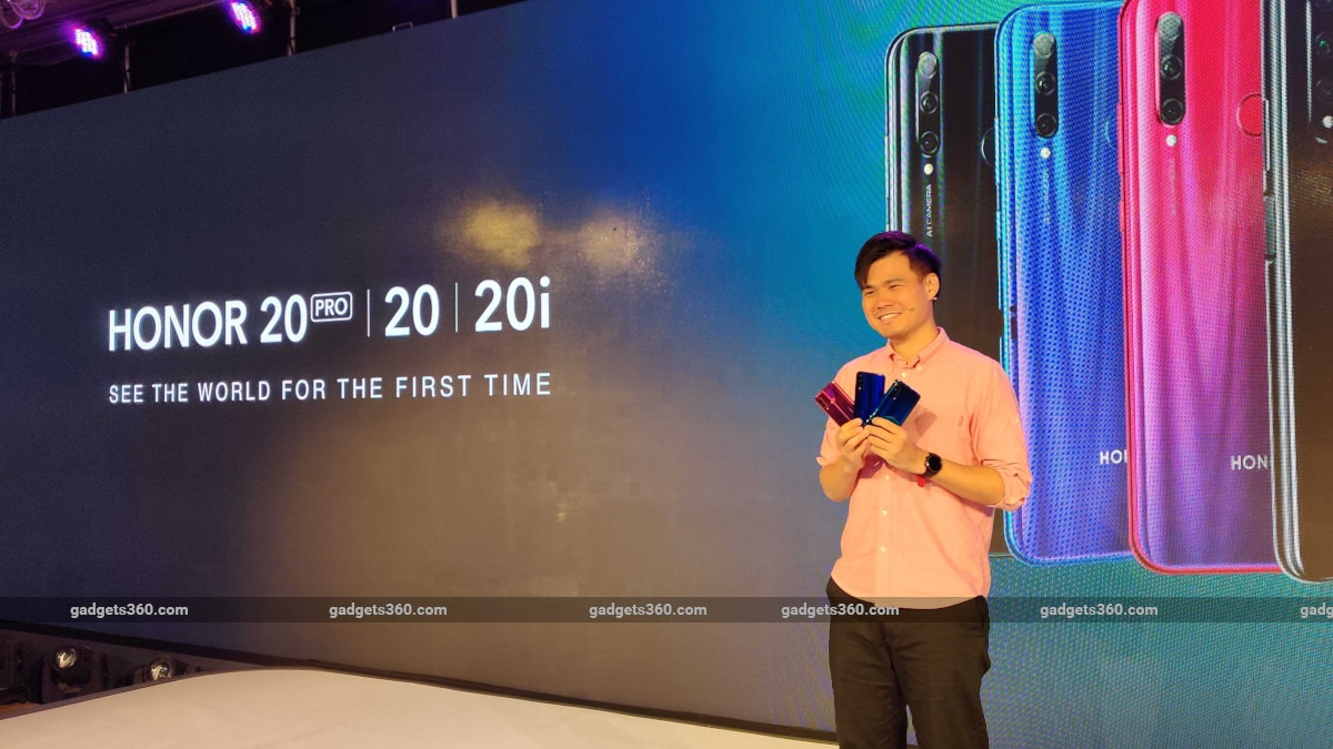 Honor 20 Pro, Honor 20, Honor 20i With 32-Megapixel Selfie Camera Launched in India: Price, Specifications