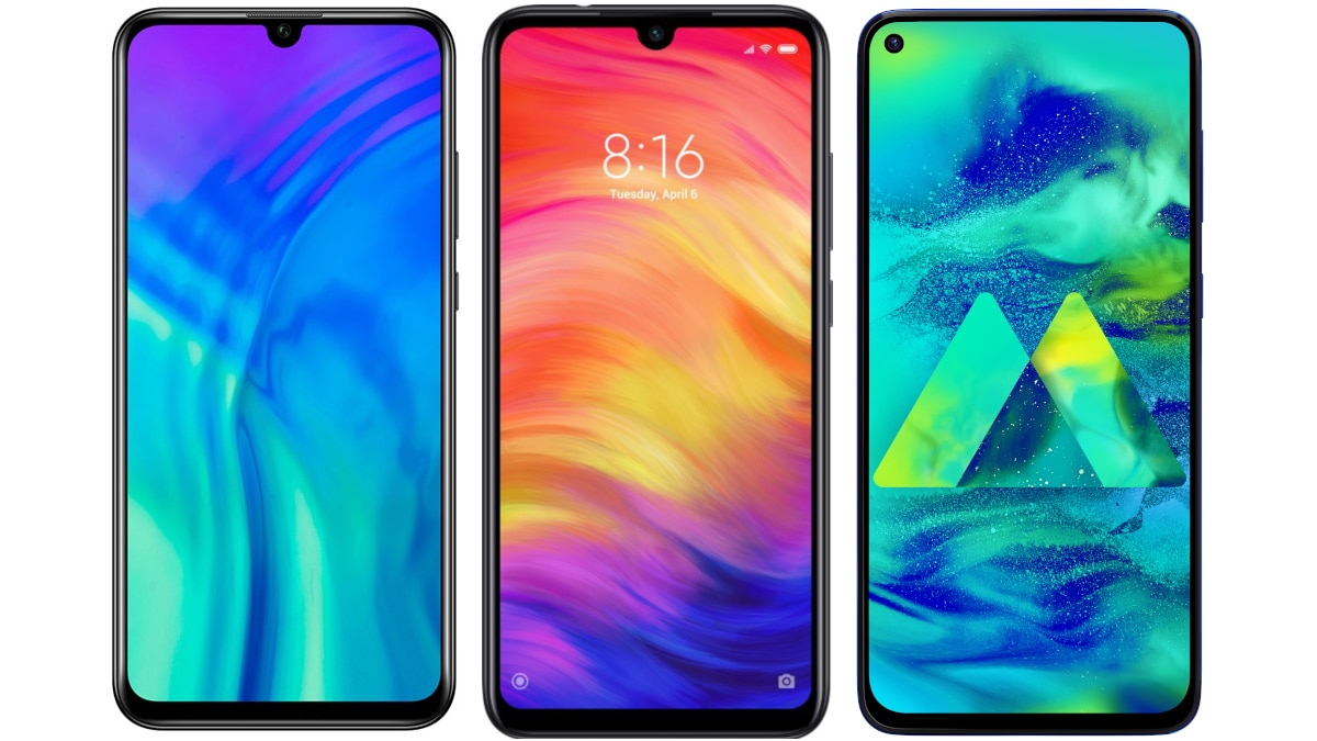 Honor 20i vs Redmi Note 7 Pro vs Samsung Galaxy M40: Price in India, Specifications Compared