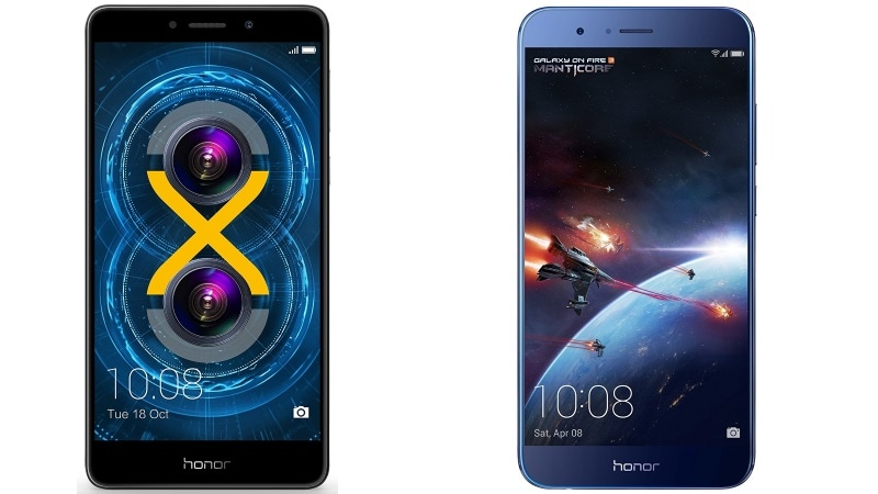 Honor Gala Sale Offers Discounts on Honor 8 Pro, Honor 6X, and More Deals