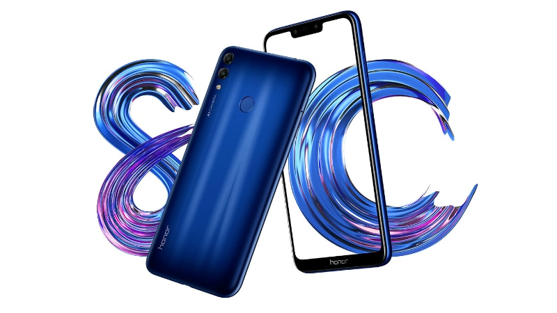 Honor 8C With Snapdragon 632 SoC Gets Listed on VMall; MediaPad T5 Teased