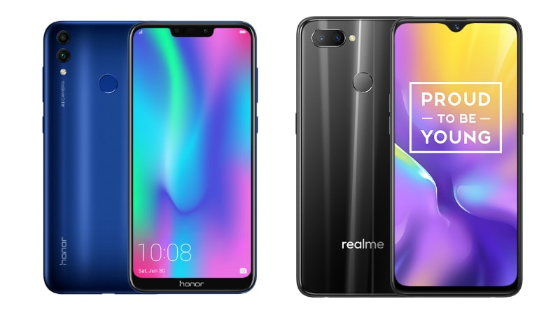 Realme U1 vs Honor 8C: How the New Rs. 11,999 Phones Compare Against Each Other