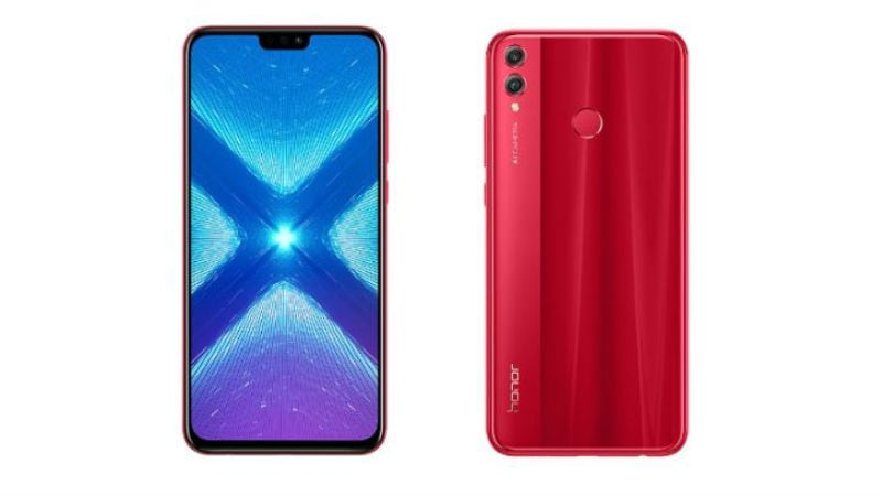 Honor 8X Red Colour Variant Launched in India: Price, Specifications