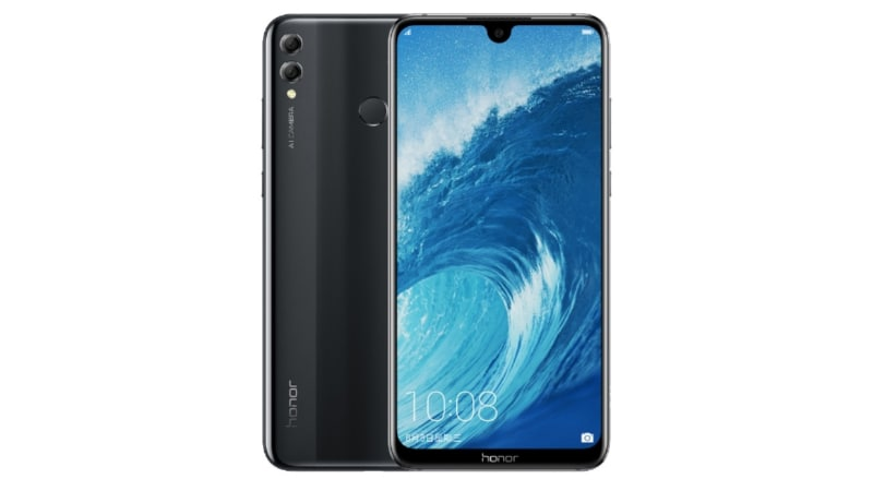 Honor 8X Max With Waterdrop Notch, 7.12-Inch Display Launched, Honor 8X Goes Official Too