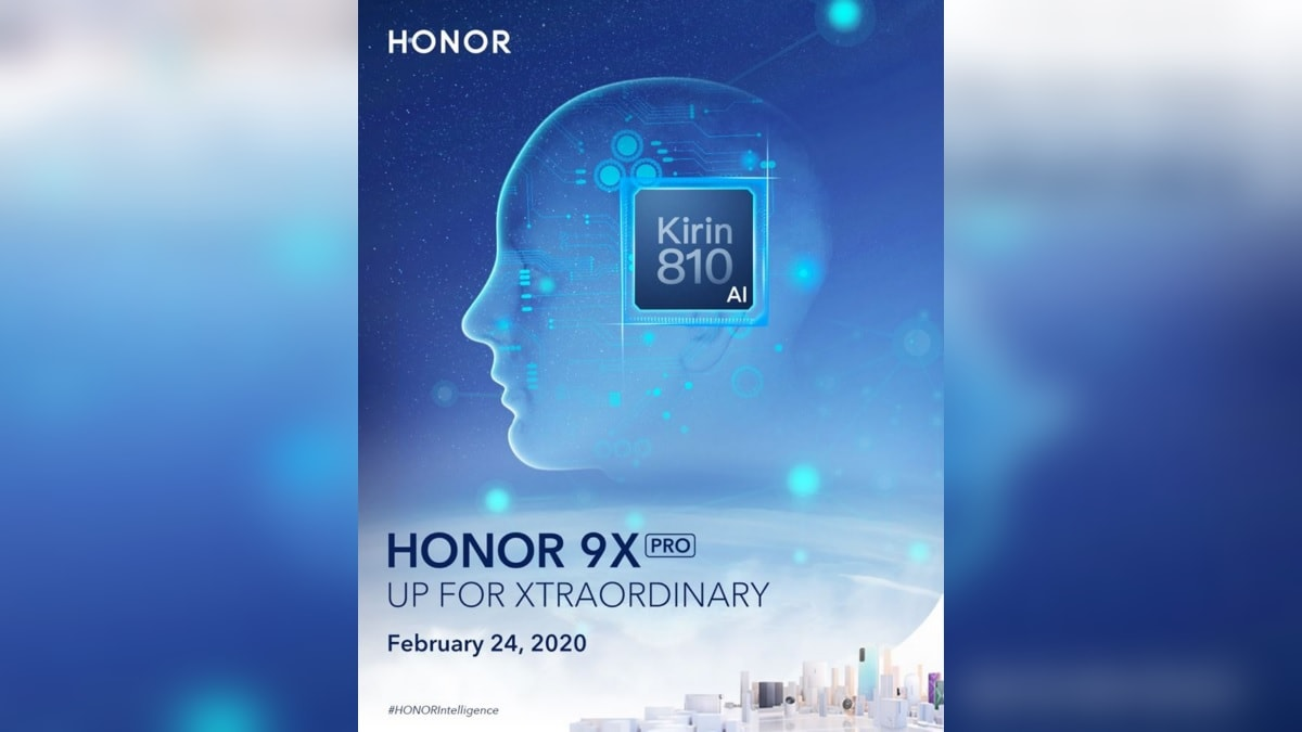 Honor 9X Pro, MagicBook Laptop Global Launch Set for February 24