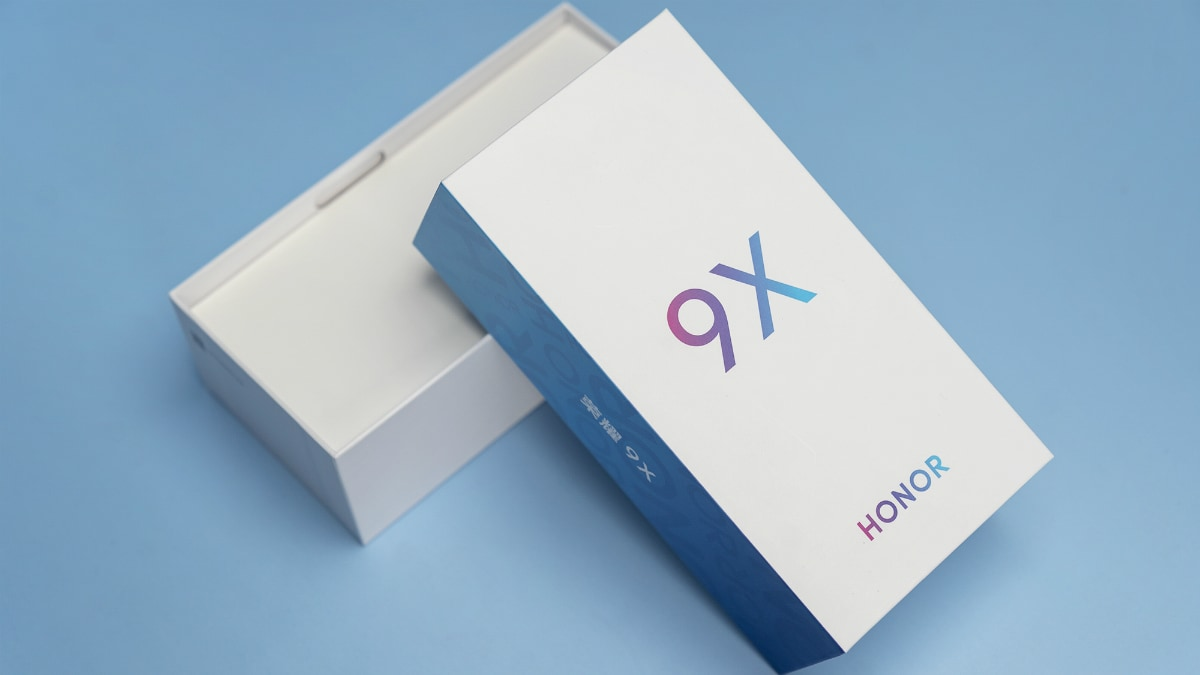 Honor 9X Retail Box Showcased, Suggests Gradient Finish Ahead of Formal Launch