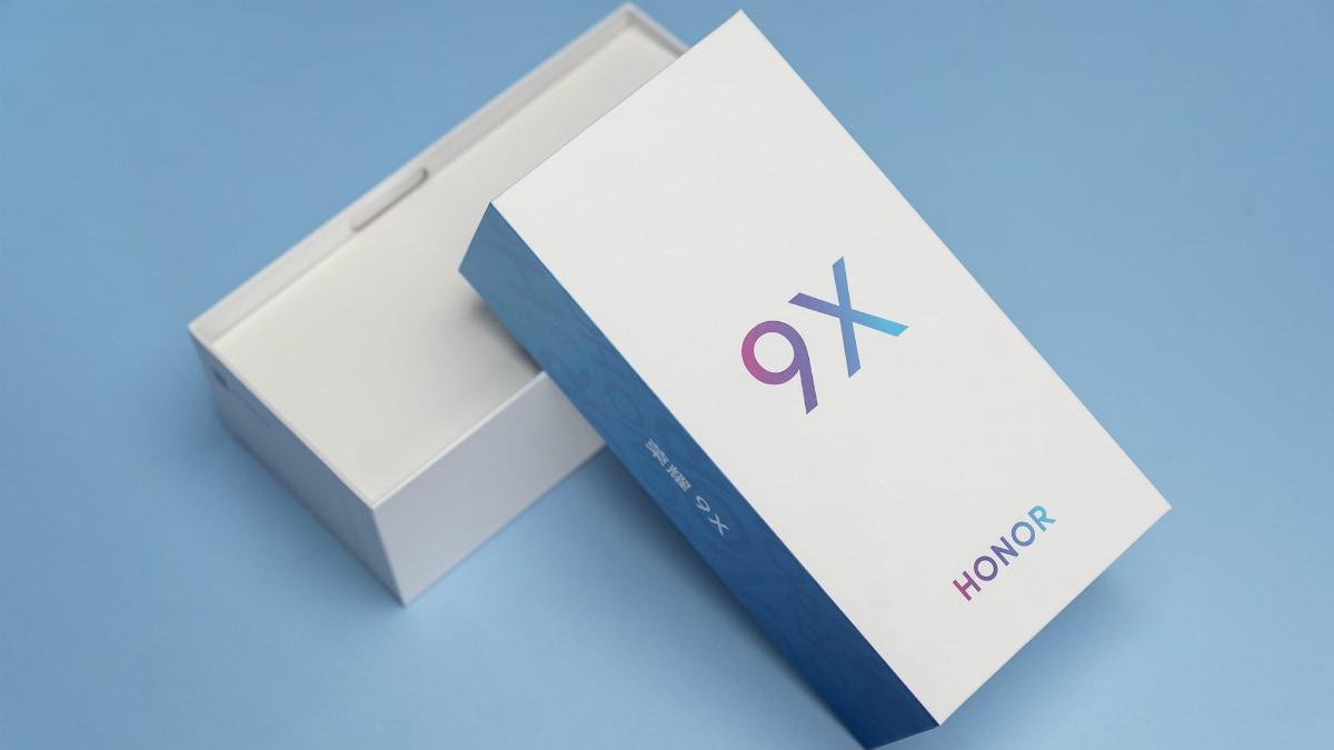 Honor 9X के रिटेल बॉक्स की तस्वीरें आई सामने