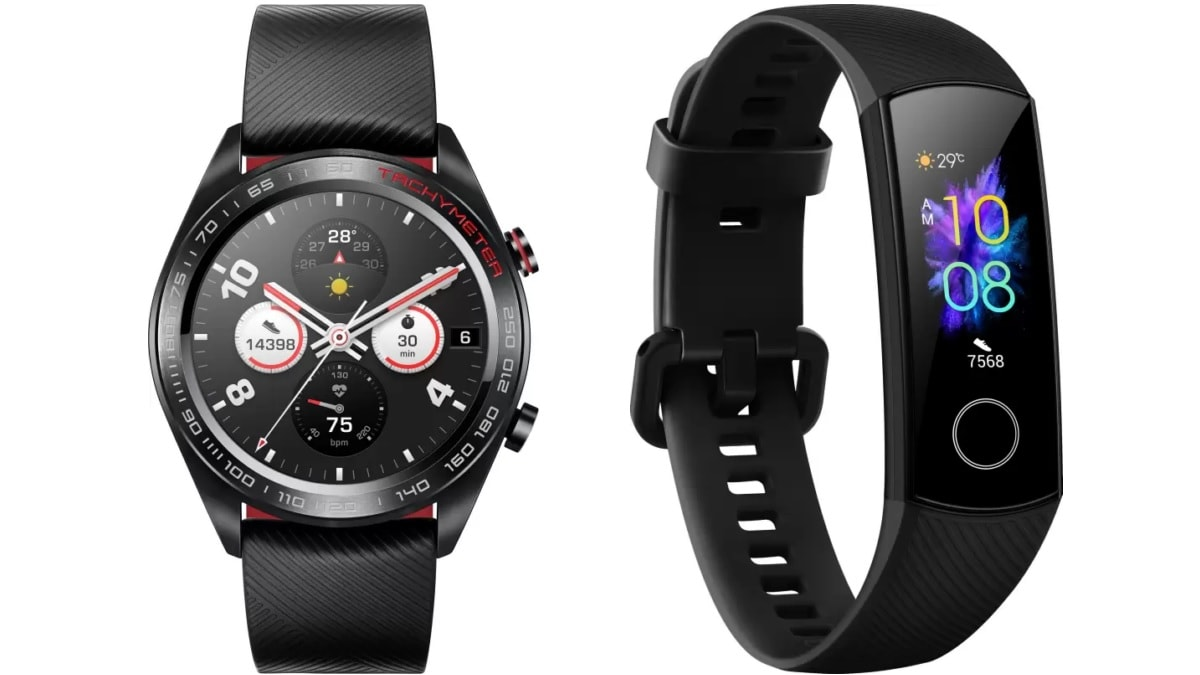 Honor Magic Watch, Honor Band 5 Price in India Cut