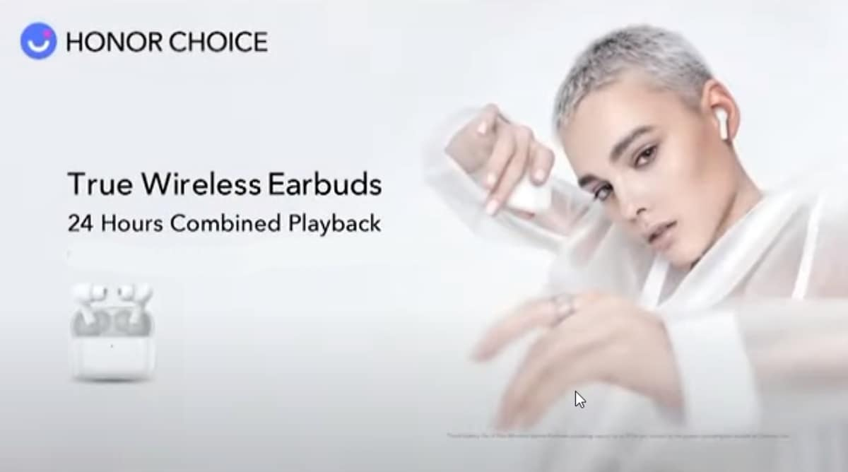 Image of article 'Honor Choice True Wireless Earbuds With Up to 24 Hours Battery Life Unveiled'
