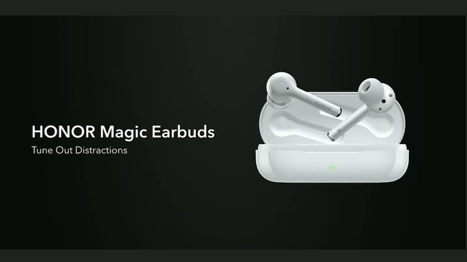 Honor Magic Earbuds With Hybrid Active Noise Cancellation Tech, Touch Gesture Support Launched