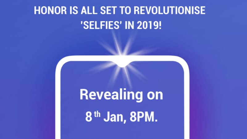 Honor 10 Lite India Launch Expected on January 8 as a Flipkart Exclusive