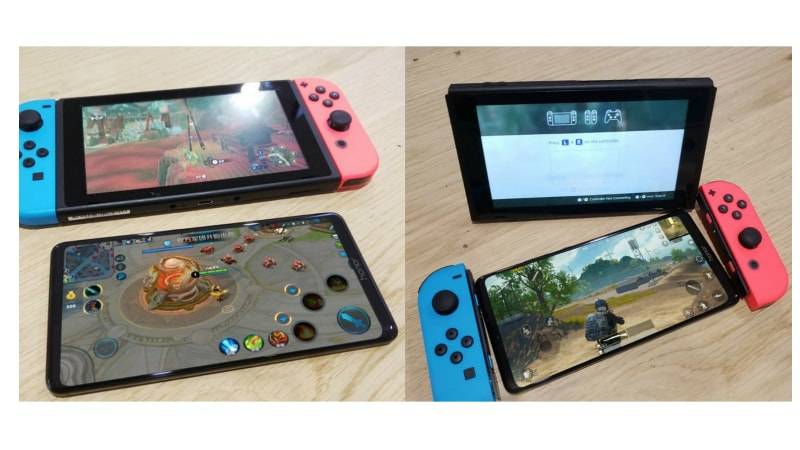 Honor Note 10 Live Image Leaks, Compares Dimensions With Nintendo Switch