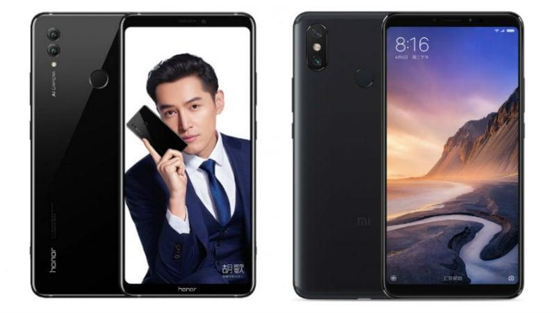 Honor Note 10 vs Xiaomi Mi Max 3: Price, Specifications Compared