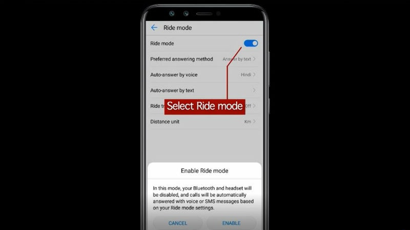 Honor 9 Lite Gets Ride Mode Safety Feature