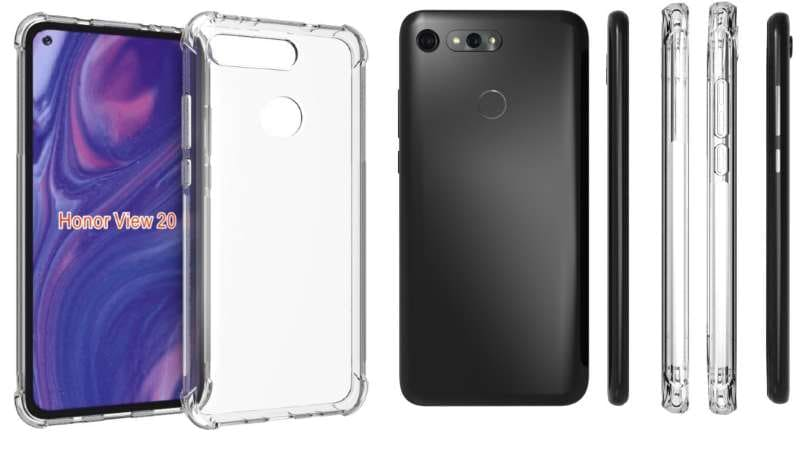 Honor V20 Case Design Leaks Show Off Its Front and Rear Just Before Launch
