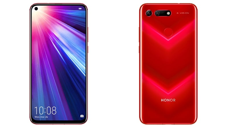 Honor View 20 Price in India Said to Be Around Rs. 40,000
