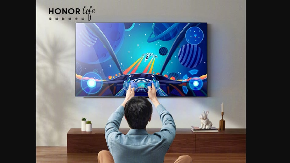Honor Vision X1 Smart TV With 4K Resolution Launched, to Be Released in Three Screen Sizes