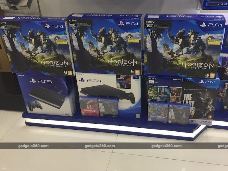 PS4 Slim Horizon Zero Dawn Bundle Now Available in India