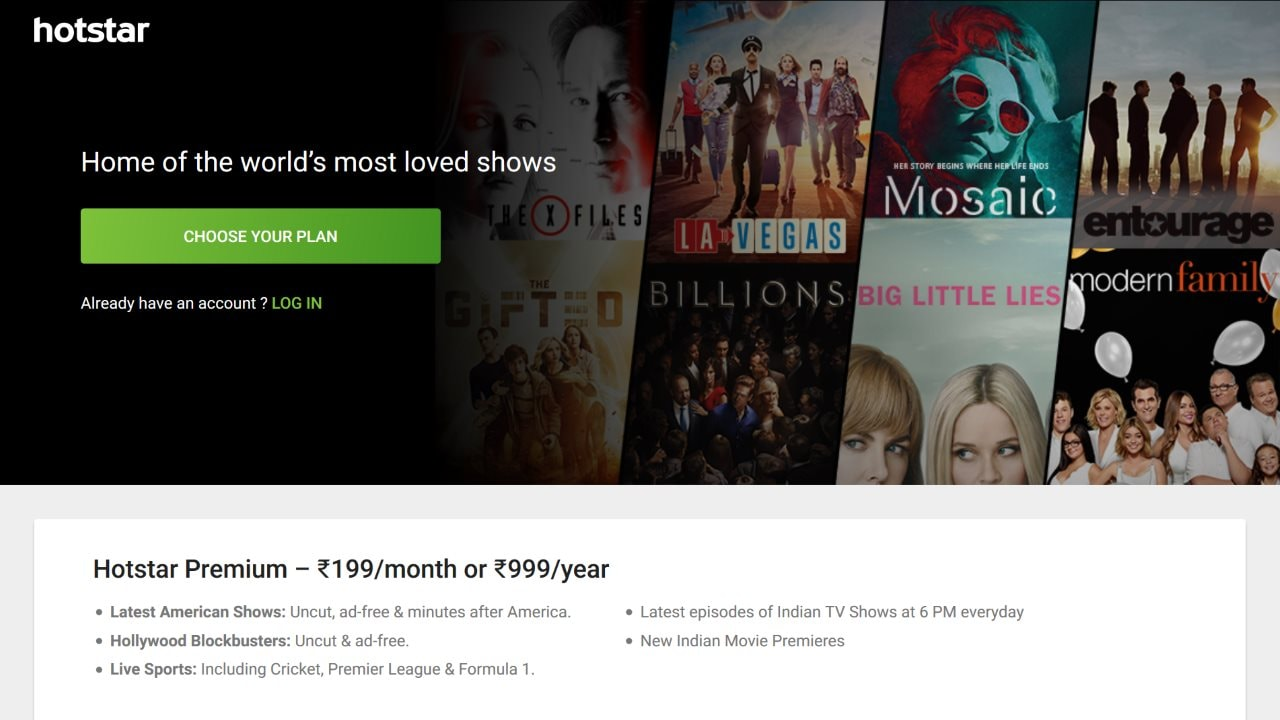 Hotstar Premium Annual Subscription Discounted Again, Now at Rs. 999