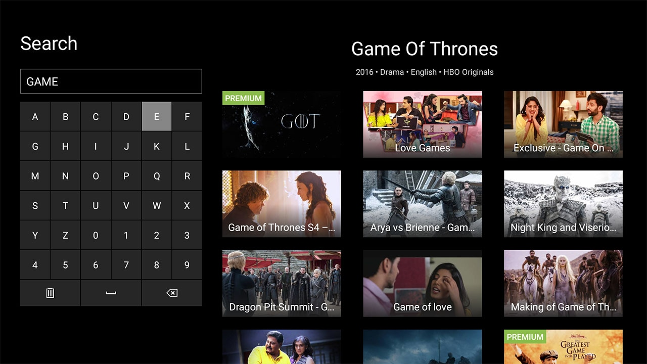 hotstar android tv got Hotstar Android TV