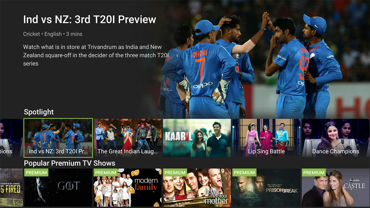 Hotstar Android TV App Launched, Available in India, the US