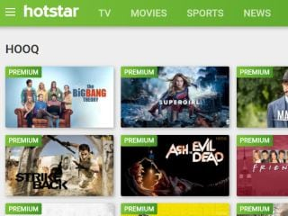 Hotstar Gets Hooq's Biggest TV Shows Including Friends, The Big Bang Theory, and Arrowverse
