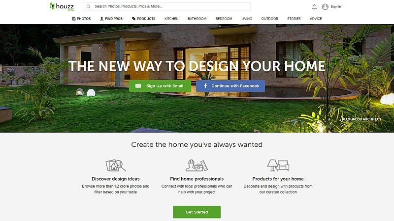 Houzz Remodelling and Interior Decoration Platform Launched in India