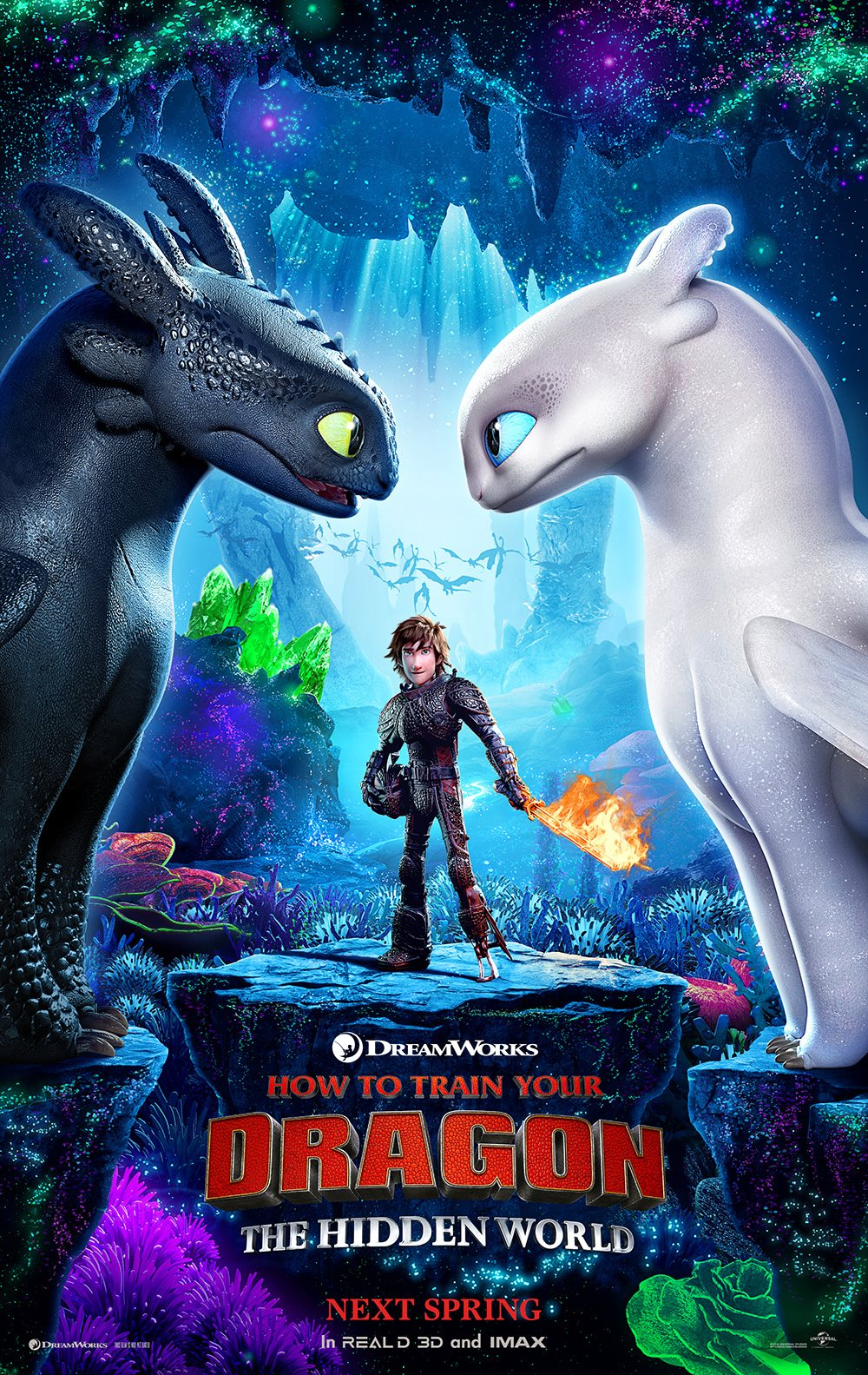 how to train your dragon hidden world poster How to Train Your Dragon 3