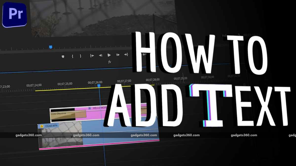 Adobe Premiere Pro: How to Add Text to Videos, and Stylise Text Easily