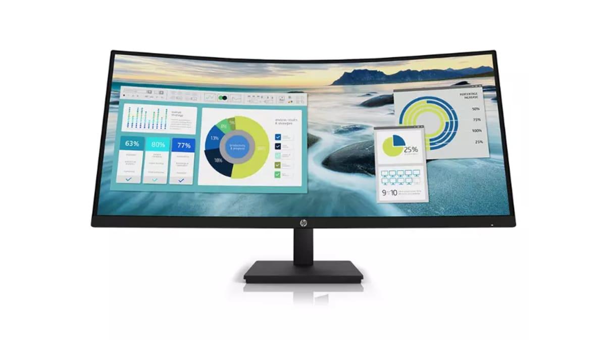 hp monitor main HP P34hc WQHD Curved Monitor