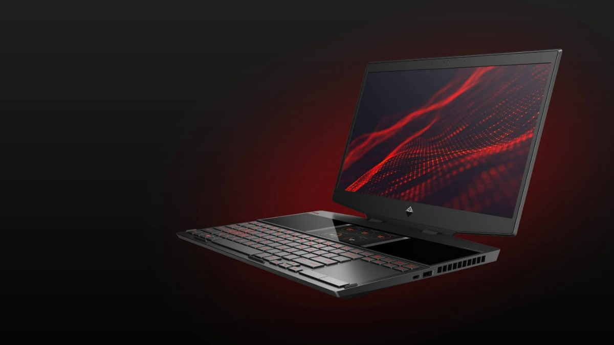 HP Omen X 2S Gaming Laptop With Dual-Screen Design Debuts