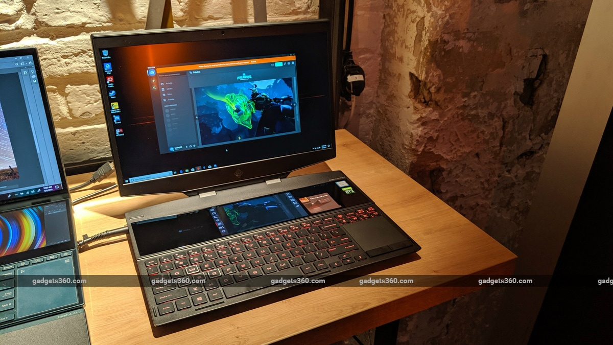 HP Omen X 2S Dual-Screen Gaming Laptop First Impressions